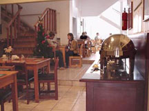 The Breakfast Room at the Hotel La Amistad