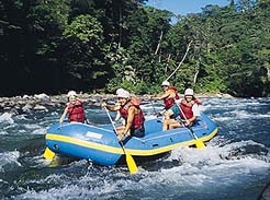 White Water Rafting in Costa Rica